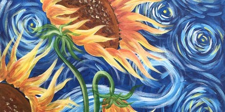 Sunflowers Brush Party - Aylesbury tickets