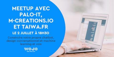 Meetup avec Palo-IT, M-Creations et Taiwa billets