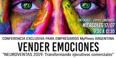 Conferencia empresarios MiPyMES: Vender Emociones entradas