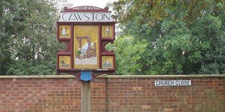 Tracks and Churches, Cawston Circular walk  tickets