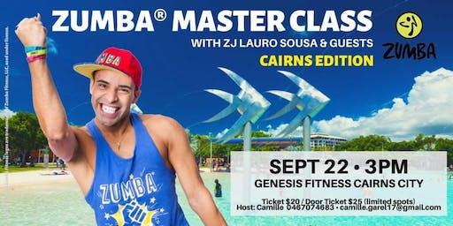 Zumba Masterclass with ZJ Lauro Sousa