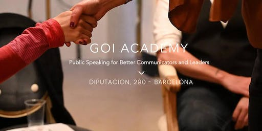 GOI Academy - Public Speaking Meetup | Classes