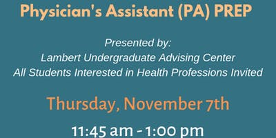 Physician's Assistant Preparation: PA Prep