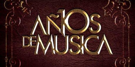 10 años de Música by Abel Ramos entradas