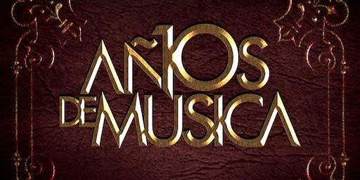 10 años de Música by Abel Ramos