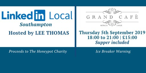 Linkedin Local Southampton at The Grand Cafe