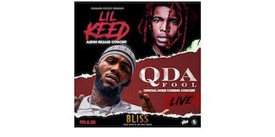 Q DA FOOL AND LIL KEED LIVE IN CONCERT AT BLISS