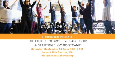 StartingBloc Bootcamp: Seattle tickets