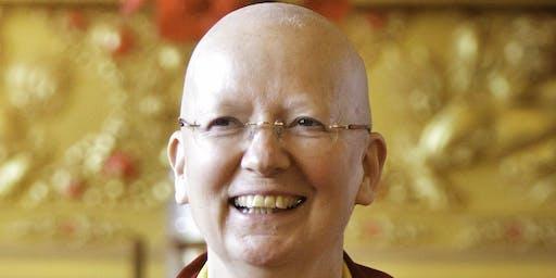 'The Path to Inner Happiness using Meditation'  talk by Lama Zangmo
