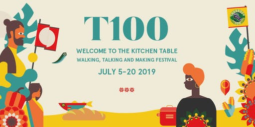 T100 2019 Welcome to the Kitchen Table Launch Event