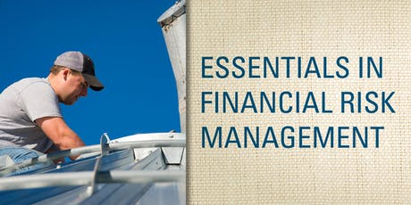 Essentials in Financial Risk Management - Van Wert tickets