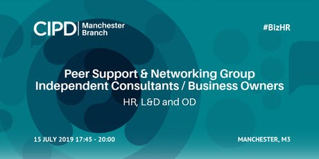 Peer Support & Networking Group Independent Consultants (HR LnD OD) #BizHR tickets