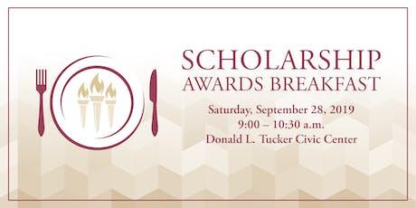 2019 Scholarship Awards Breakfast tickets