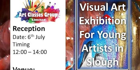 Visual Art Exhibition For Young Artists In Slough tickets
