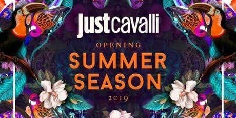 Sabato JUST CAVALLI - Aperitivo + Serata - Lista Williams ✆+39 3491397993  biglietti