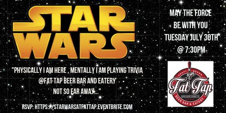 Star Wars Trivia at Fat Tap Beer Bar and Eatery tickets