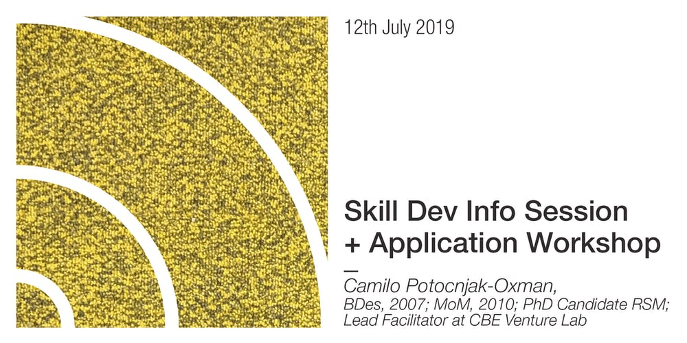 Semester II Skill Dev Info Session + Application Workshop