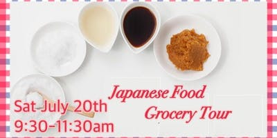 Japanese Grocery Tour