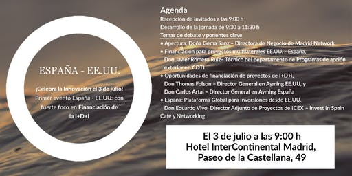 Evento España - EE.UU. sobre Financiación de la Innovación