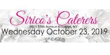 October 23rd FREE BRIDAL SHOW at Sirico's Caterers in Brooklyn, NY tickets