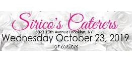 October 23rd FREE BRIDAL SHOW at Sirico's Caterers in Brooklyn, NY