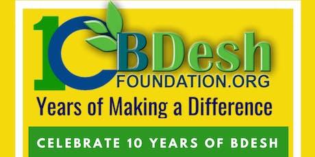 BDesh Foundation - 10th Anniversary Dinner tickets