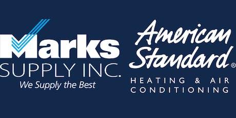 American Standard HVAC tickets