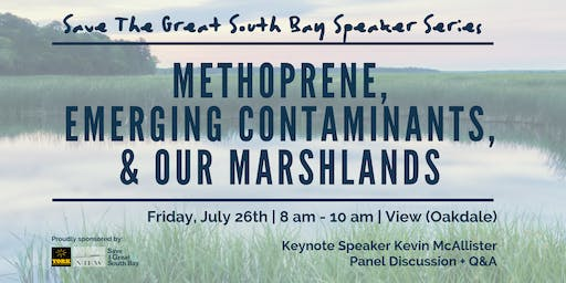 Methoprene, Emerging Contaminants & Our Marshlands