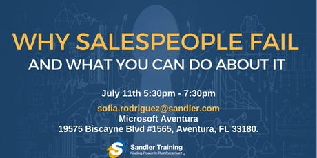 Why Sales People Fail...and what you can do about it tickets