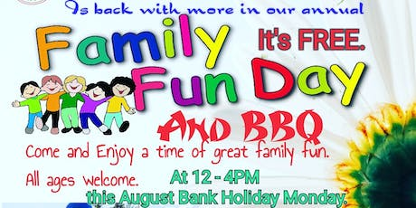 FAMILY FUN DAY and BBQ -2019- FREE tickets