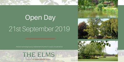 Open Days - The Elms Retirement Park