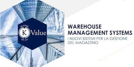Warehouse Management Systems: i nuovi sistemi per la gestione del magazzino biglietti