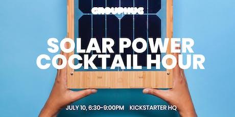 Grouphug Solar Power Cocktail Hour tickets