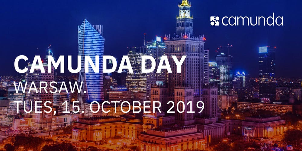 Camunda Day Warsaw Tickets, Tue, 15 Oct 2019 at 8:30 AM