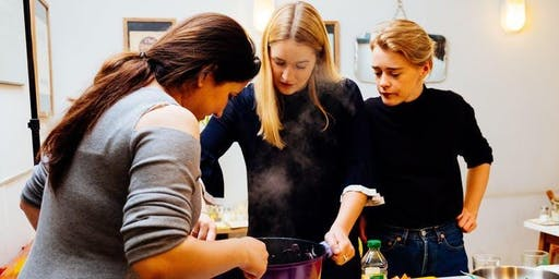 Pakistani cookery class with Noor at St Ethelburga's