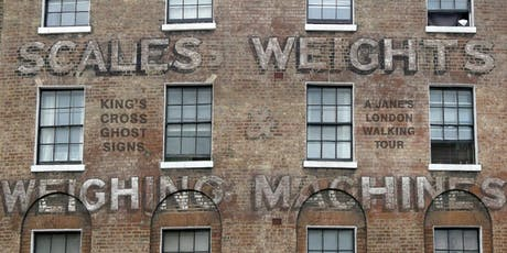 Kings Cross Ghostsigns - social history told through advertising tickets