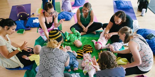 Summer Baby Yoga Social and Taster (7mths to crawlers)