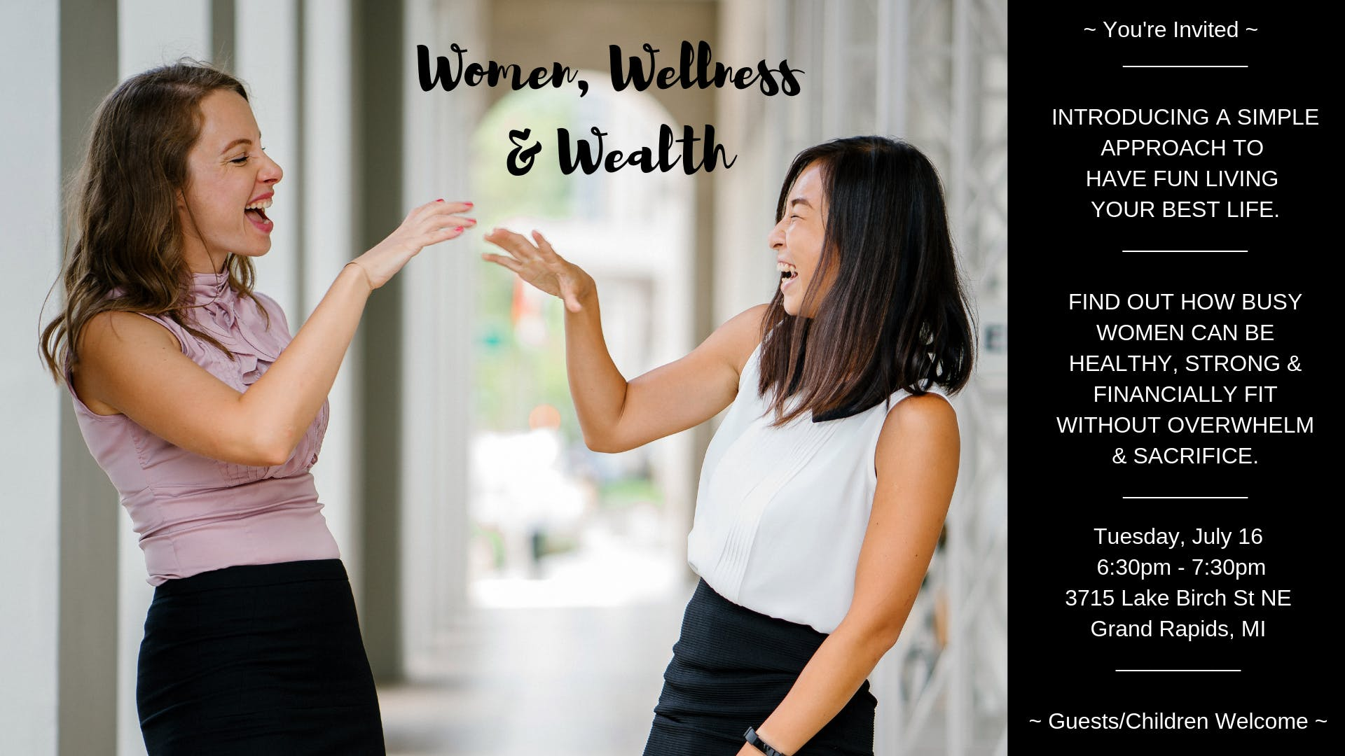 Women, Wellness & Wealth
