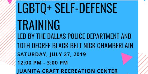 LGBTQ+ SELF-DEFENSE TRAINING