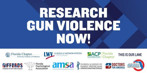 Rally with Gabby Giffords for Gun Violence Research in Orlando