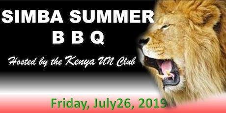 Kenya Club - Simba Summer BBQ tickets