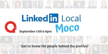 #LinkedInLocal MoCo Sept tickets