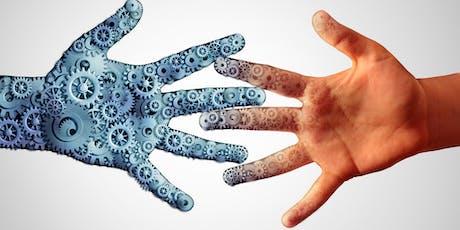 Conferencia Virtual: Ética y Tecnología: ¿La máquina reemplazará al hombre? entradas