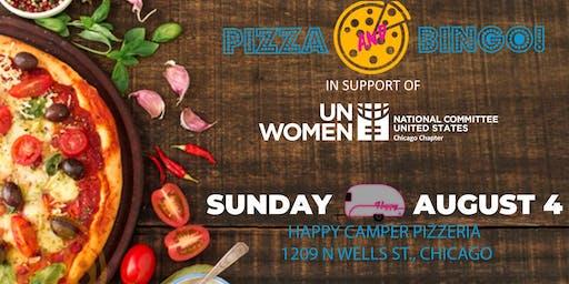 Pizza and Bingo! for USNC UN Women Chicago