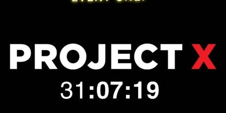 Project X The After Party Cahir tickets