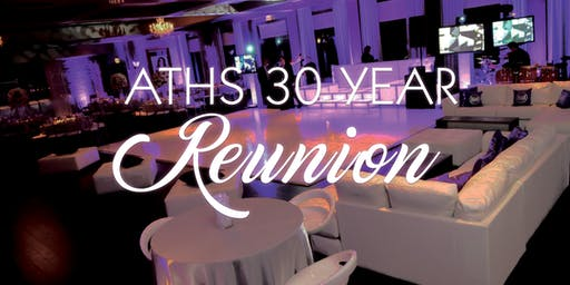 Class of 1989 Reunion & Lounge Party