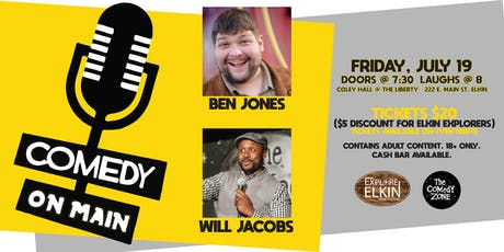 Comedy on Main! tickets