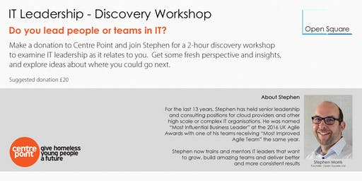 IT Leadership - Discovery Workshop