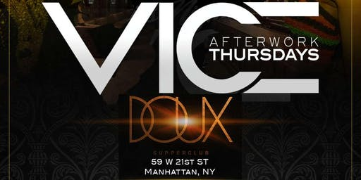 Vice After Work Thursdays (Caribbean Vibes)