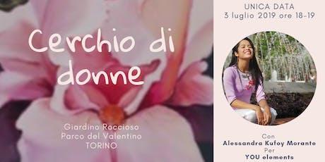 Cerchio di donne: data unica a Torino biglietti
